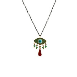 IGMSHOP-Vally Contidis-Evil Eye Necklace-S